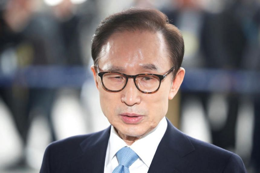 Ex-President Lee Myung Bak is being investigated for multiple cases of bribery amounting to millions of dollars.