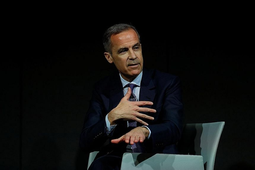 BOE governor Mark Carney and his colleagues surprised markets by saying last month that rates may need to go up faster than expected due to a strong global economy and an inflation rate that is running uncomfortably above target.