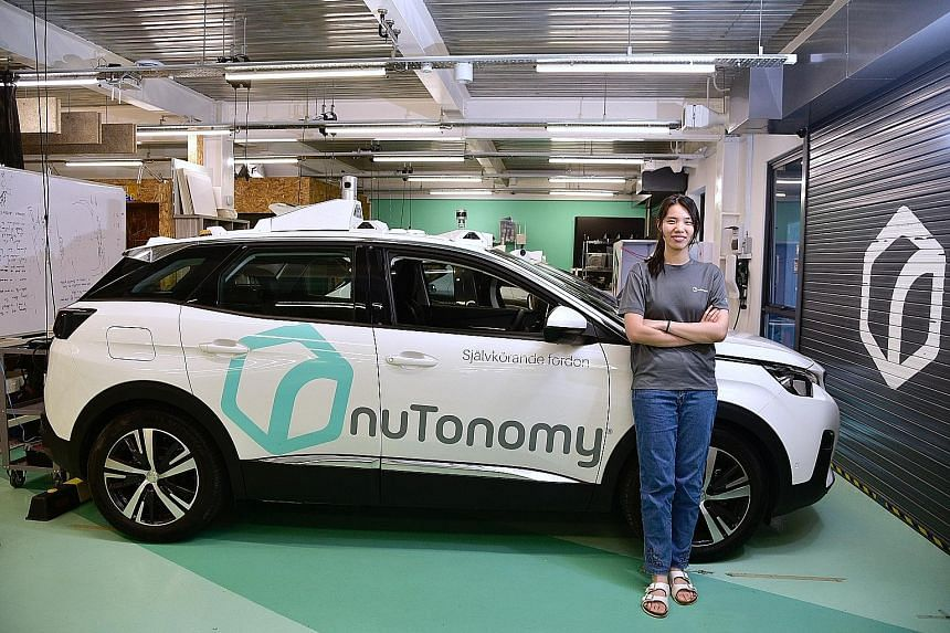 Information systems technology graduate May Quek is one of several SUTD graduates whose internship translated into a job offer. She is now a software engineer at nuTonomy, which makes software for self-driving cars.