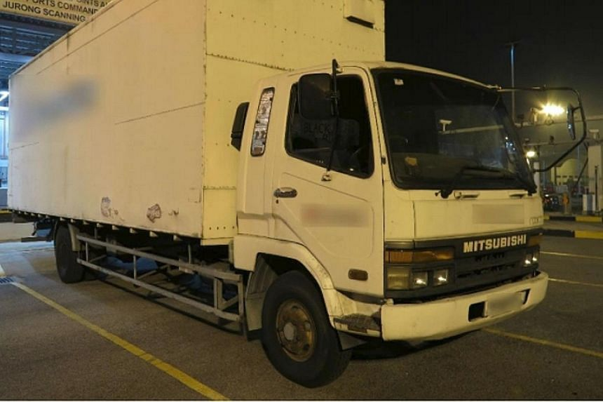 Singapore Customs officers conducted a check on a white truck during an operation in the vicinity of Jurong Port and uncovered a total of 10,500 cartons of contraband cigarettes.