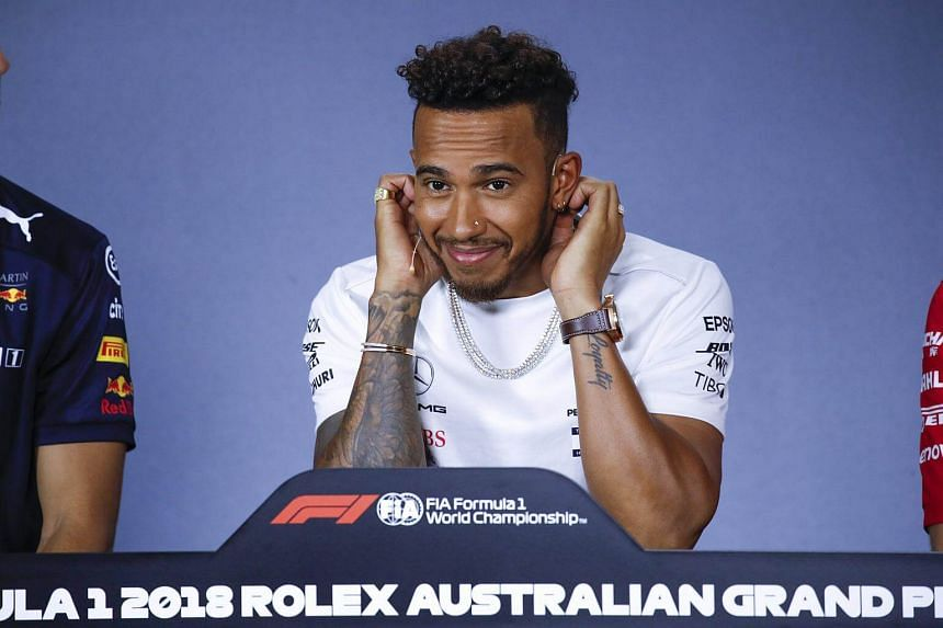 World champion Lewis Hamilton clocked a best time of 1min 24.026sec among his 27 laps.