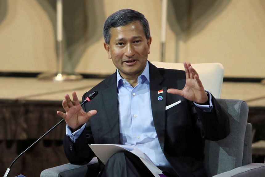 Foreign Minister Vivian Balakrishnan said many countries had benefited from the rules-based, open and inclusive world order co-created and underwritten by the US after World War II.