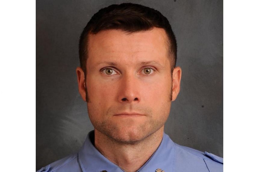 New York City firefighter Michael Davidson was injured in a fire in a historic building, and later died in a hospital.