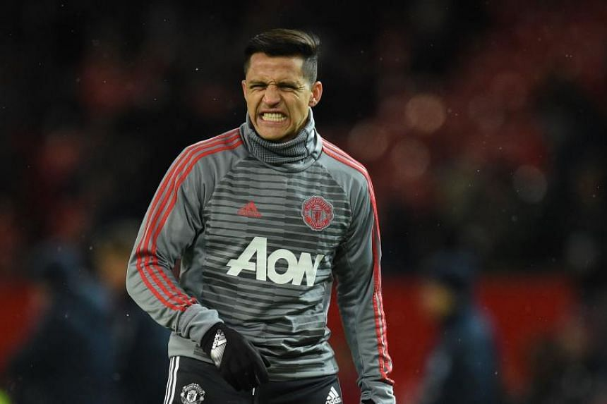 Alexis Sanchez has scored just once in his first 10 games for Manchester United.