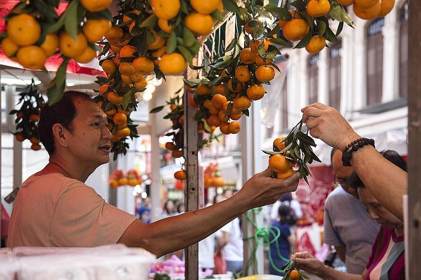 Food inflation was 1.5 per cent last month, up from 1.1 per cent in January, reflecting a bigger increase in the prices of food items and meal costs due to the seasonal uptick in food prices associated with Chinese New Year.