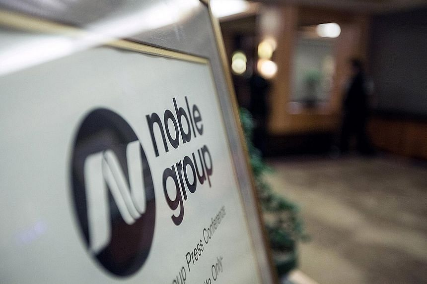Noble Group, which is based in Hong Kong, said yesterday that while it is aware of the case, it has not yet been served any writ, and plans to contest the claims. The company was once Asia's largest commodity trader.