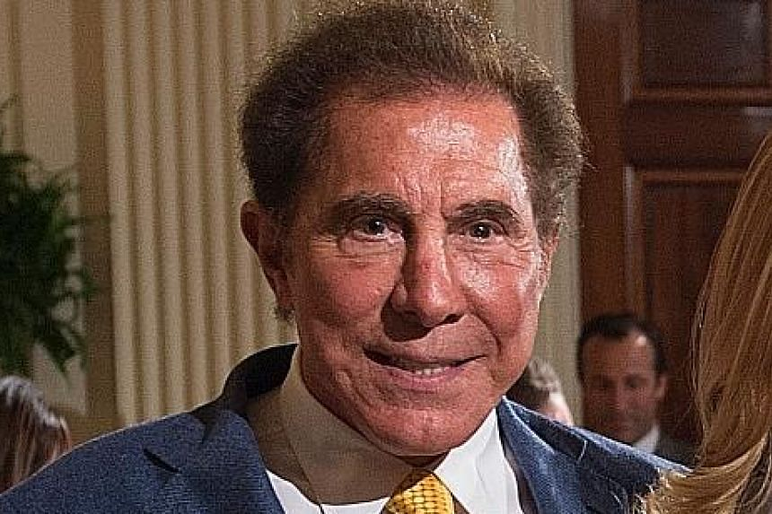 Mr Steve Wynn resigned as CEO of Wynn Resorts last month following sexual misconduct allegations made against him.