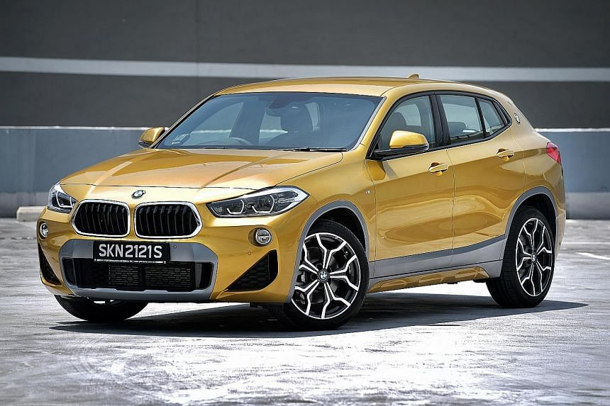 The BMW X2 offers a firm ride and quick and taut steering, with minimal body movement.