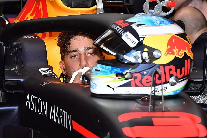 Daniel Ricciardo is aiming to be the first Australian on the podium in his home race.