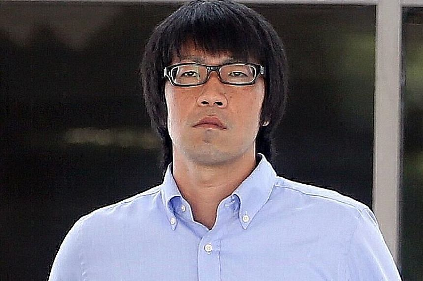 Takafumi Mizuno, who molested a 14-year-old girl twice on July 6 last year, was given a 10-day jail term yesterday.