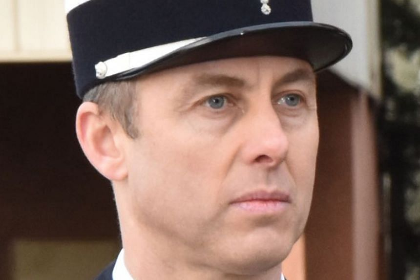 Arnaud Beltrame had been raced to hospital fighting for his life after the siege in which he took the place of the female hostage.