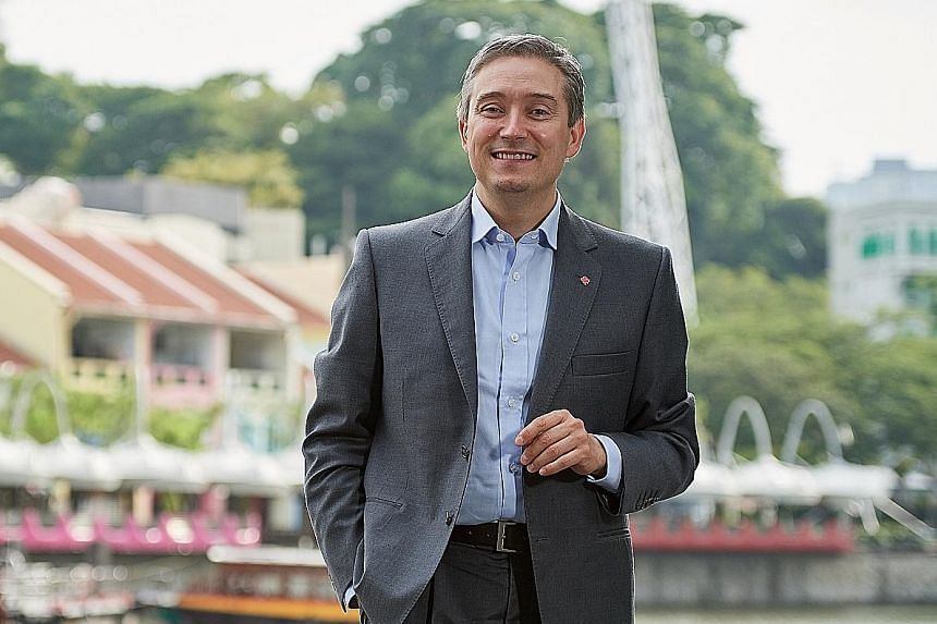 Mr Francois-Philippe Champagne was in Singapore for a three-day visit to court investments and promote Canada's trade agenda.