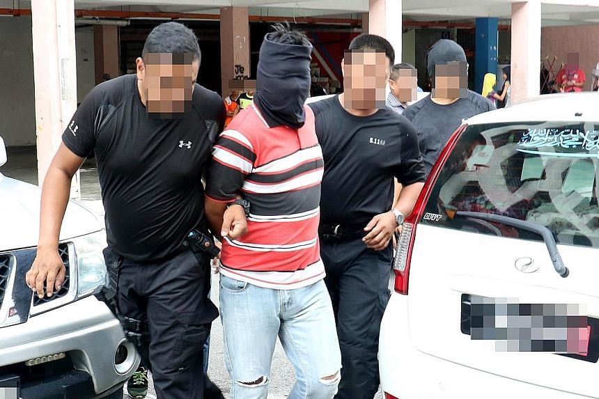 The plot was uncovered after Malaysian counter-terrorism police, aided by their Singaporean counterparts, detained the terror suspects in a series of swoops between Feb 27 and March 15.