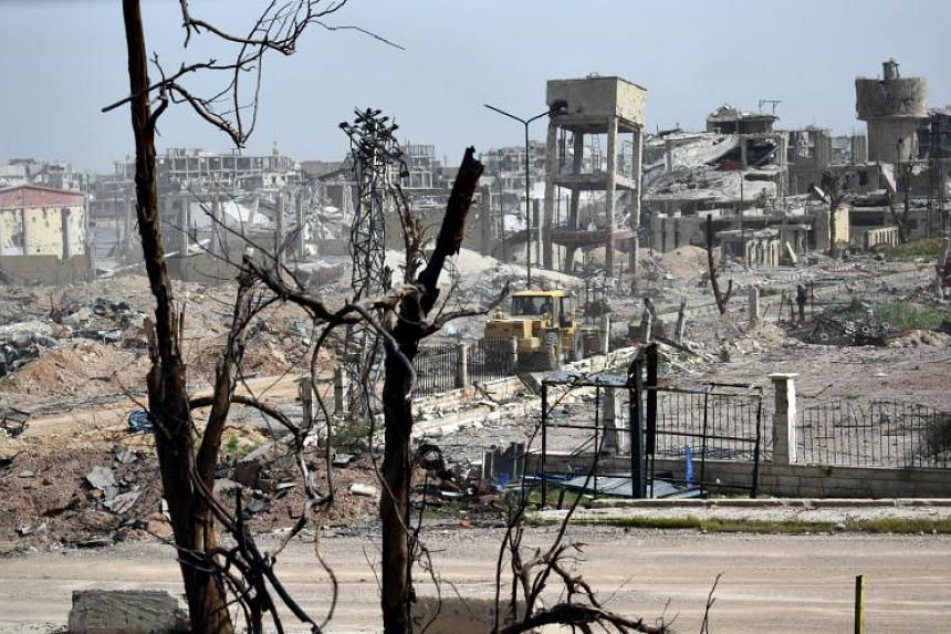 The latest strike on Damascus came despite rebels clearing out of several holdouts around Ghouta under evacuation deals.