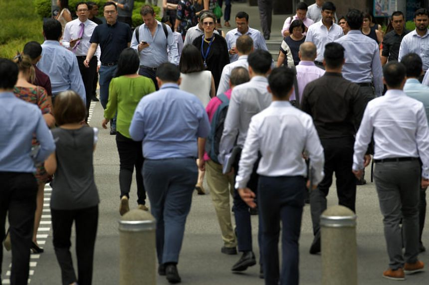 Labour market figures released recently showed that the number of foreigners working in Singapore, excluding maids, fell by 32,000 last year - the biggest drop in 15 years.