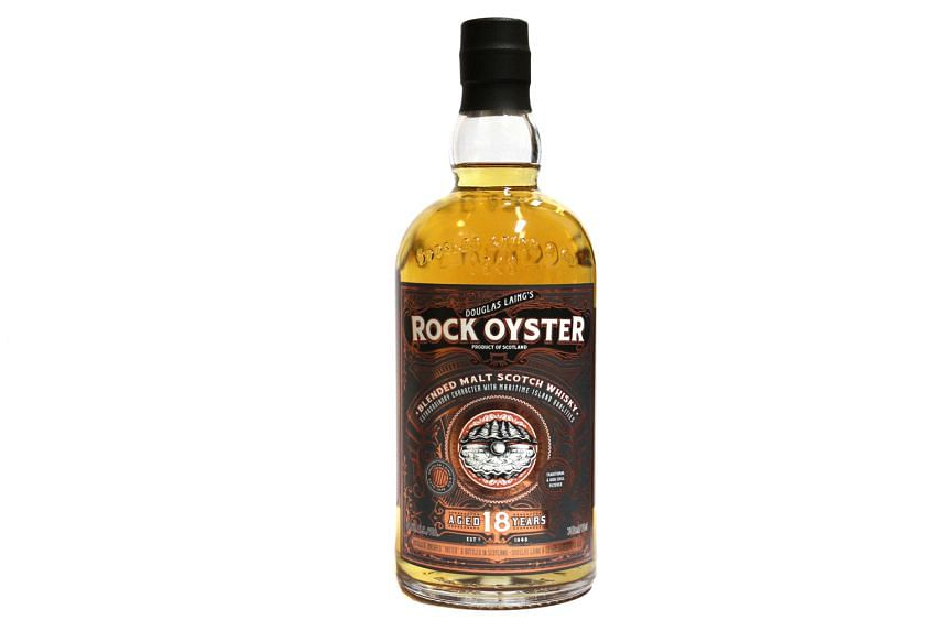 Distilled on the islands of Arran, Islay, Jura and Orkney, Rock Oyster has the scent of sea air, tobacco and sweet peat.