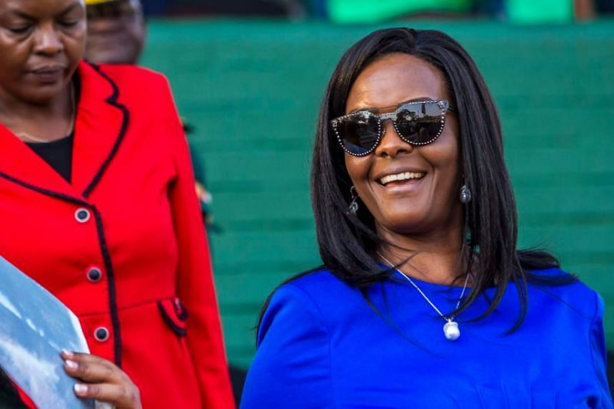 Police in Zimbabwe are investigating former first lady Grace Mugabe over alleged ivory smuggling.