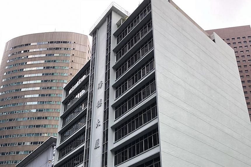 Owners at Verdun House (left), a commercial site near Farrer Park MRT station, are asking for $60 million, while no indicative reserve price has been set yet for Realty Centre In Tanjong Pagar.