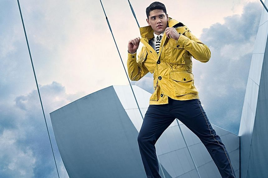 Olympic champion Joseph Schooling, who announced yesterday that he has turned professional, is Hugo Boss' first Singaporean ambassador. The German fashion label is also the 22-year-old swimmer's first commercial partner.