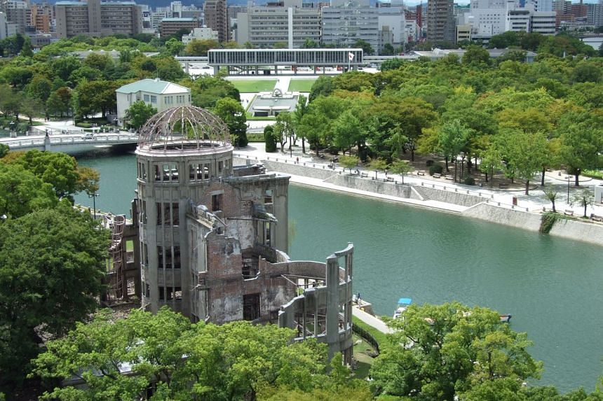 The Atomic Bomb Dome in Hiroshima city, a Unesco World Heritage Site.