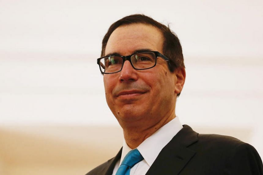 US Treasury Secretary Steve Mnuchin attends a meeting at La Moneda Presidential Palace in Santiago, Chile on March 21, 2018.