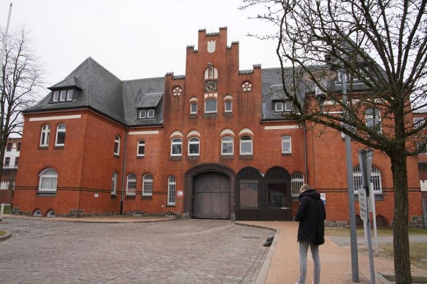 The prision where Carles Puigdemont, former Catalan leader, is expected to be held in custody, in Neumuenster, Germany, on March 25, 2018.