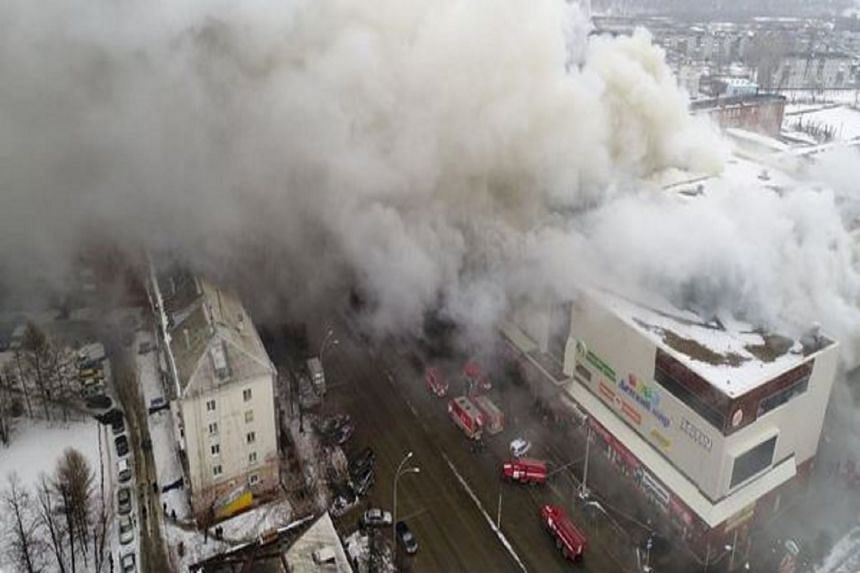 News agencies said more than 100 people had been evacuated from the mall, which contains cinemas, restaurants and shops.