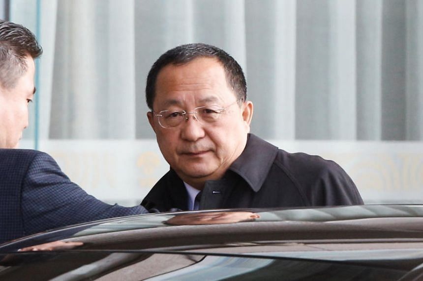 North Korean Foreign Minister Ri Yong Ho reportedly plans to visit Russia in mid-April.