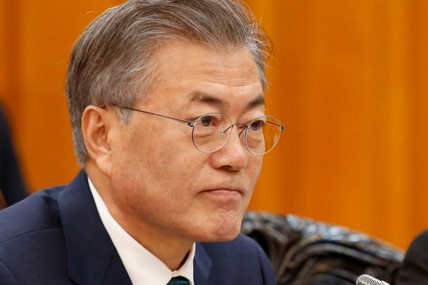 """South Korean President Moon Jae In has vowed to end what he described as an """"imperial presidency""""."""