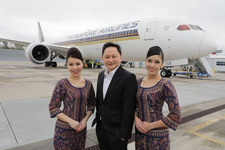 SIA's chief executive Goh Choon Phong said the 787-10 is an important element in SIA's overall growth strategy, enabling the airline to expand its network and strengthen its operations.