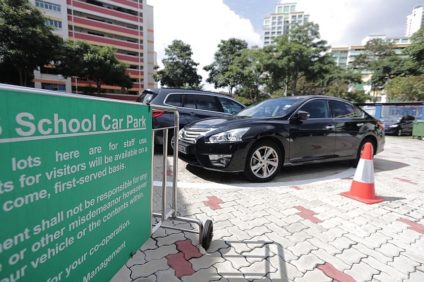 The Ministry of Education took reference from Housing Board monthly season parking rates for non-residents to determine the market value of school carparks, said its spokesman.