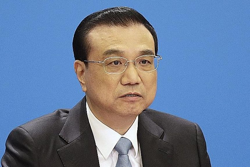 Chinese Premier Li Keqiang reiterated pledges to ease access for American businesses.