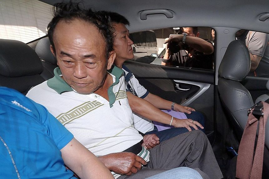 Seow Lam Seng was arrested by Malaysian police in Penang last week after being on the run from Singapore police for 38 years. He was later transferred here and is being held at Central Police Division.
