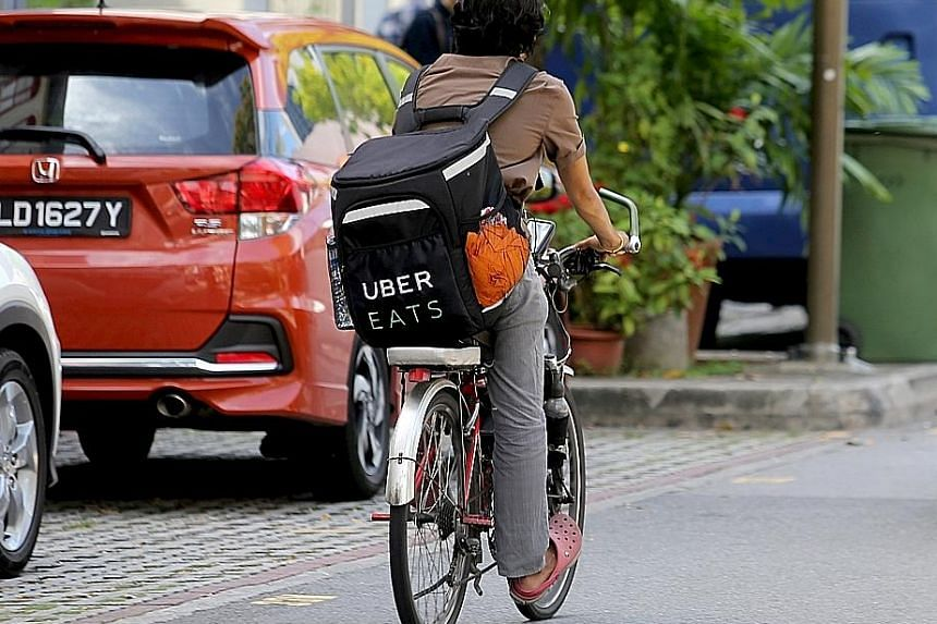 The acquisition of Uber by Grab includes its food delivery service Uber Eats, which was launched here less than two years ago, and has about 2,500 restaurant partners.