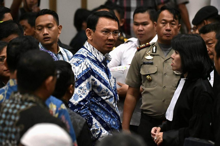 """Former Jakarta governor Basuki """"Ahok"""" Tjahaja Purnama filed a petition in February, nine months after the North Jakarta District Court found him guilty of blasphemy."""