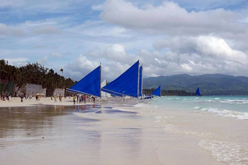 """In February, President Rodrigo Duterte slammed Boracay as a """"cesspool"""", prompting state agencies to quickly assess how to resolve the issue."""