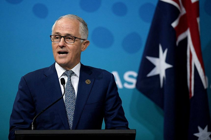 """Australian Prime Minister Malcolm Turnbull said the pair were """"undeclared intelligence officers"""" and had seven days to leave."""