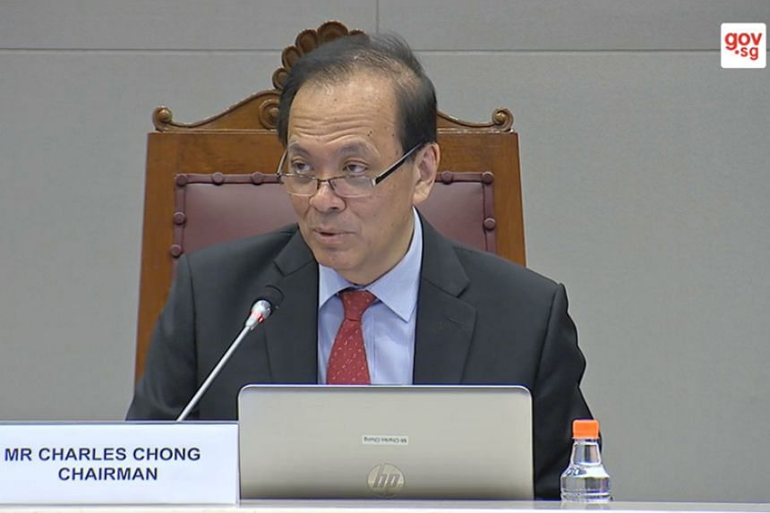 Select Committee chair Charles Chong said that Human Rights Watch was invited to give oral evidence and was initially willing to come, but it later said its staff member could not make it after being told it would be asked about its report.