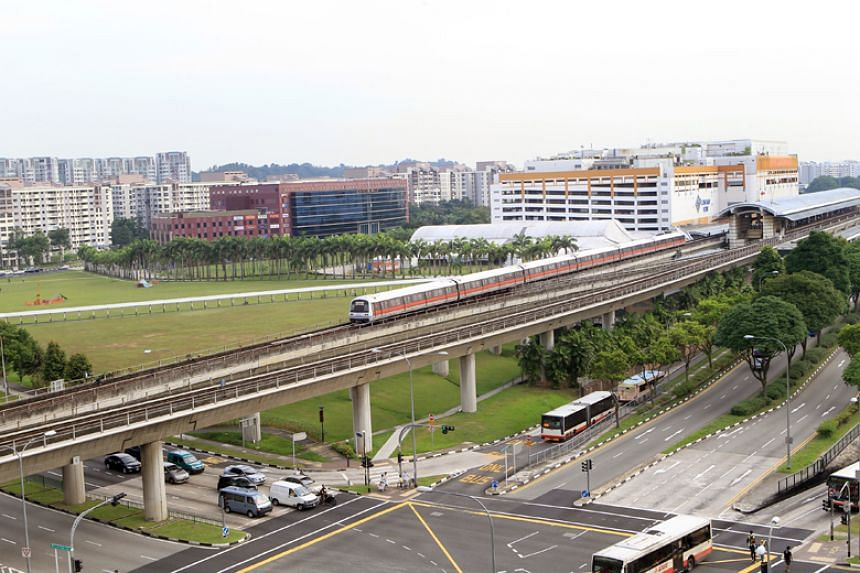 The suspect alighted at Woodlands MRT Station after allegedly molesting the victim.