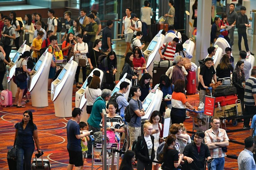 Changi Airport Group said that passenger traffic for February was boosted by the Chinese New Year break.