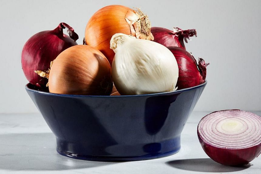 Food writer Susan Barocas uses onion skins and the tougher outer peel in her vegetable broth.