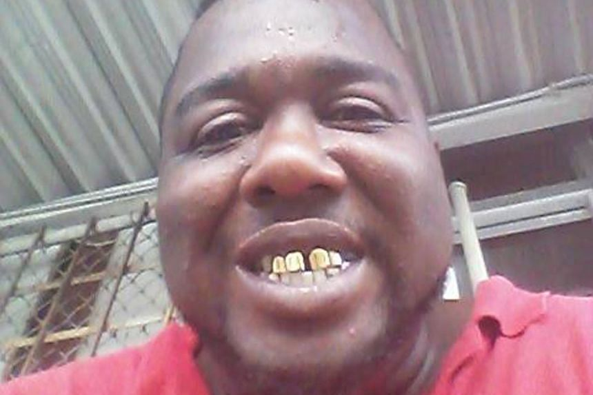 Alton Sterling in an undated photo posted to his Facebook account.
