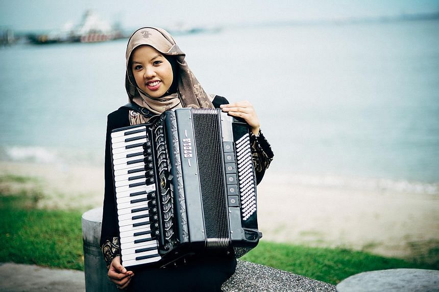 Composer/musician Syafiqah 'Adha Sallehin will conduct a workshop centred on the accordion's role in traditional Malay music.