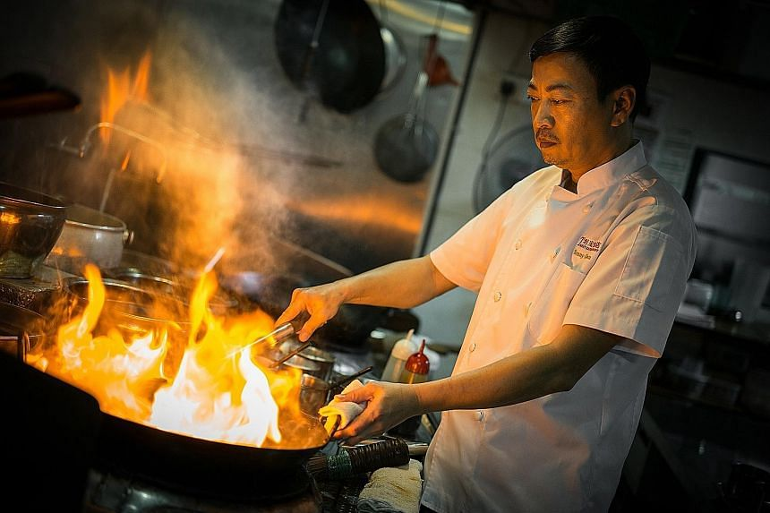 Owner and chef Tonny Chan of Tonny Restaurant, which won bronze in The Straits Times and Lianhe Zaobao Best Asian Restaurants Awards, said the win affirms there is a place for traditional Cantonese cuisine.