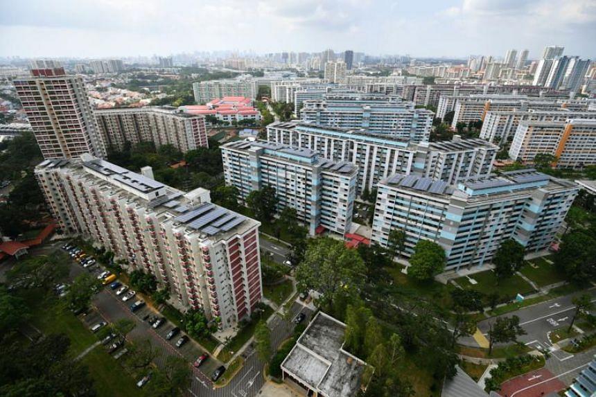 Housing Board flats in Ang Mo Kio.