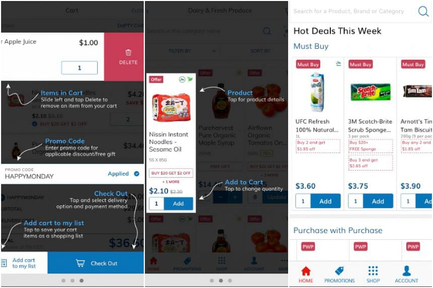 FairPrice unveiled its new branding for its digital platform, following a revamp of its e-commerce site and mobile app, on March 28, 2018.