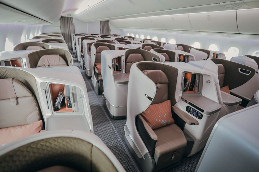 Passengers in business class will have convenient access to the aisle as seats are arranged in a 1-2-1 configuration. The centre pair of seats in this class also has adjustable dividers so that customers travelling alone can have more privacy.