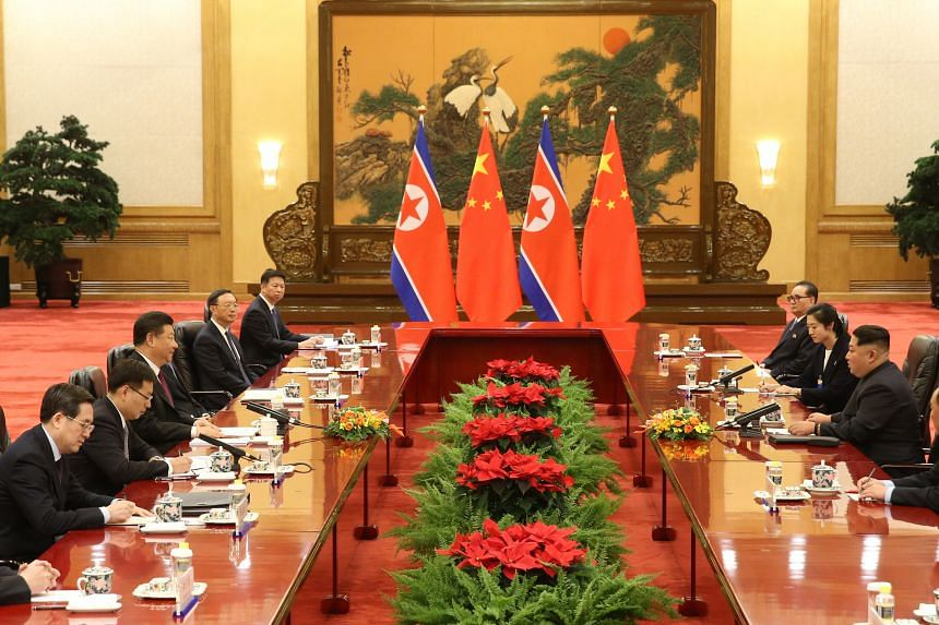 China's President Xi Jinping said Mr Kim Jong Un's current visit to China, which came at a special time and was of great significance, fully embodied the great importance attached to the relations between the two countries and the two parties.