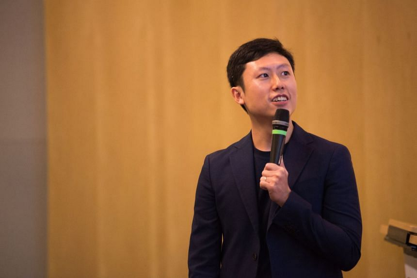 Mr Alvin Chow started a financial education company with some partners to teach people about money and investing.