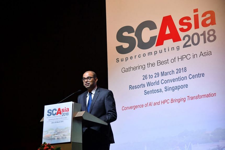 Dr Janil Puthucheary, speaking at Supercomputing Asia 2018 at the Resorts World Convention Centre yesterday, said Singapore's current digital economy has benefited from its investment in supercomputers, as well as facilities and initiatives like NSCC